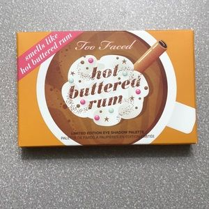 Too Faced Hot Buttered Rum eyeshadow palette NEW!